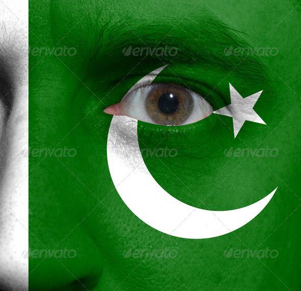 Facial flag green