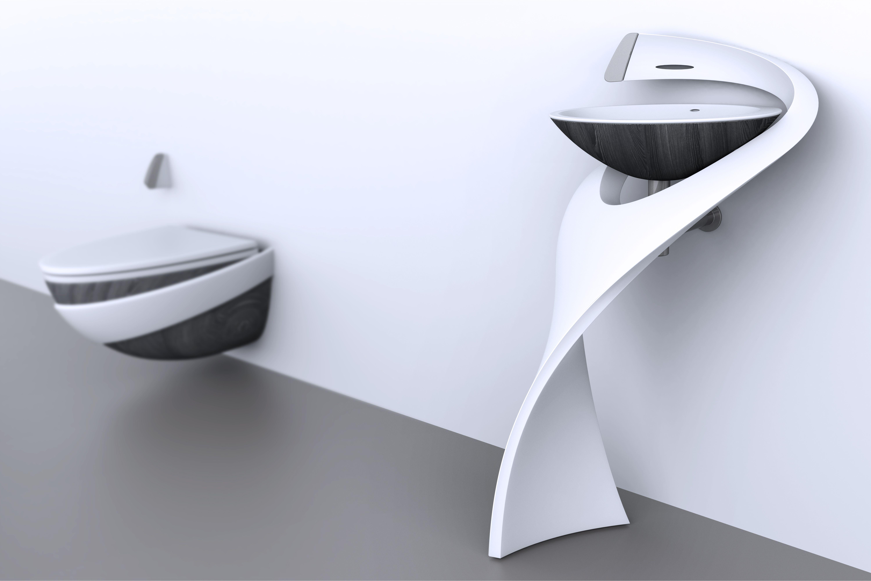 © Saeideh Aletaha l Salacia Bathroom suit l Done at HJC Design  https://www.behance.net/SaeidehAletaha http://www.hjcdesign.co.uk/