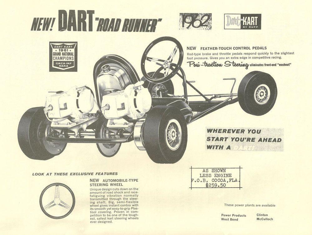 Vintage Beautiful 1960/'s Percival Hellcat Go-Kart Ad