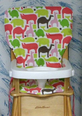 Jenny Lind Eddie Bauer Replacement High Chair Pad Cover