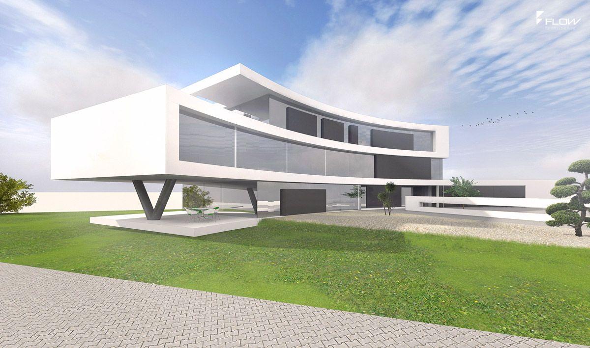 Siegerentwurf für modernes Bürogebäude Architektur