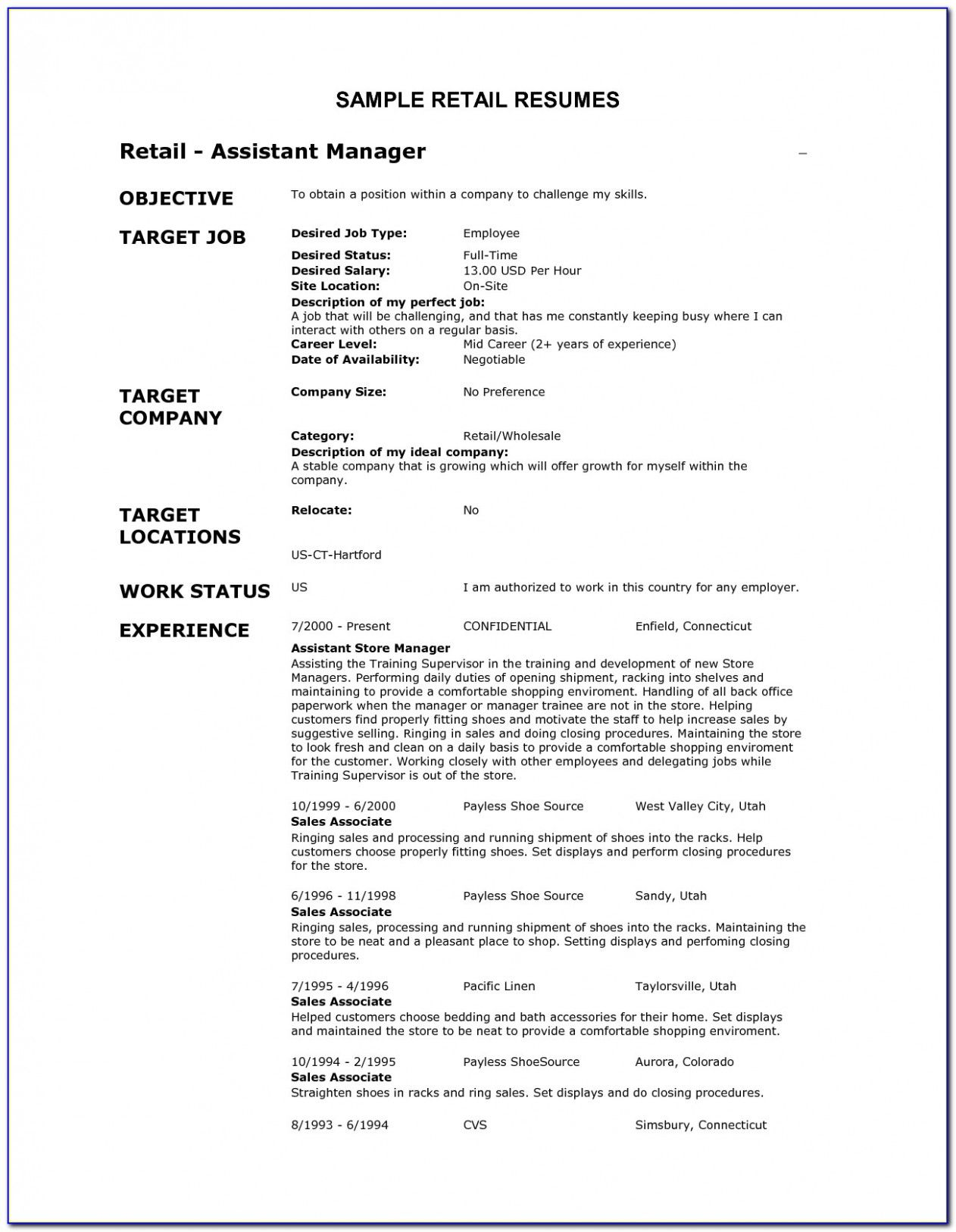 Retail Resume Objective In 2021 Resume Objective Examples Resume Examples Resume Objective