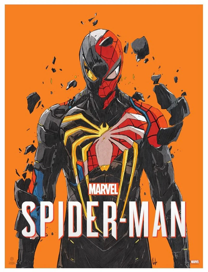 Peter Parker Comes Undone In This Gorgeous Spider Man Ps4 Poster Marvel Spiderman Art Spiderman Comic Marvel Spiderman