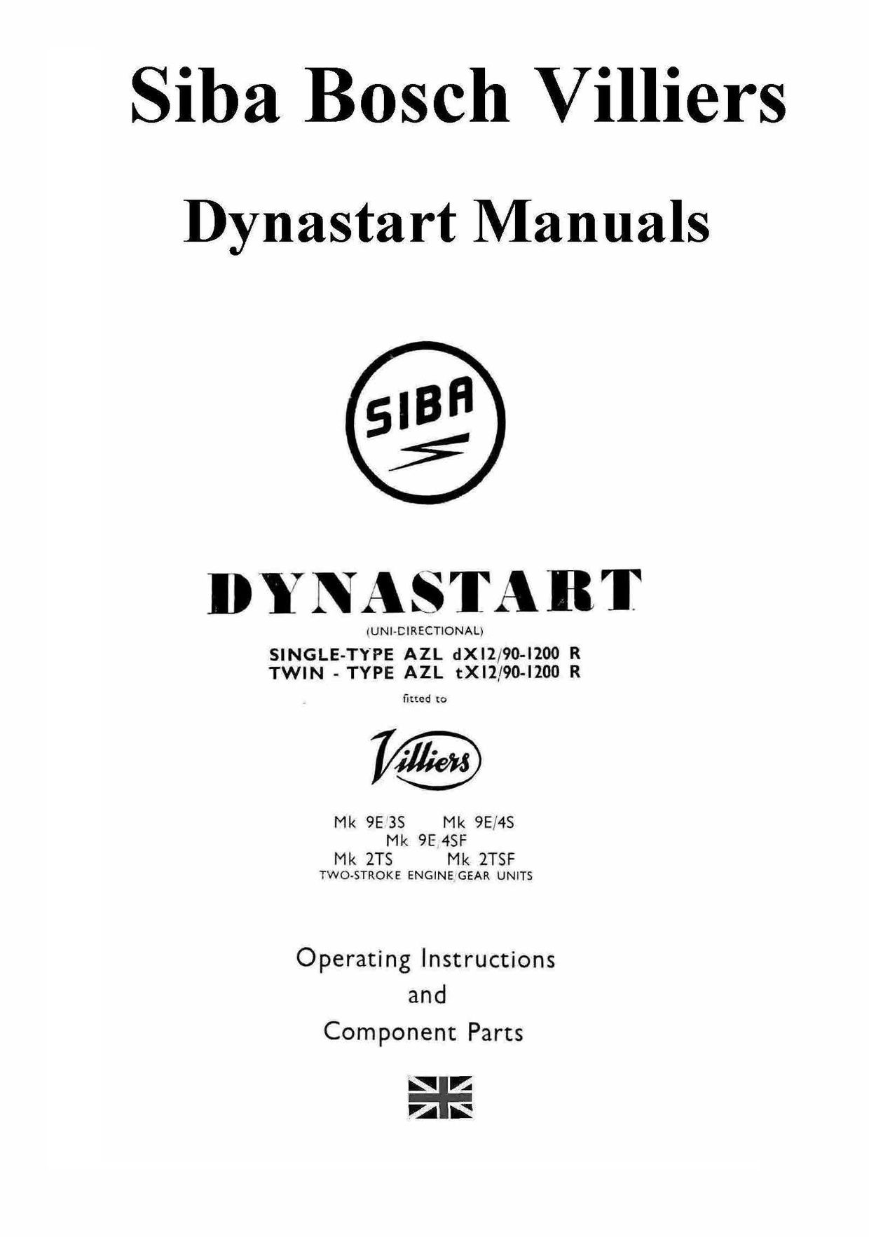 Villiers Siba Dynastart Manuals For Mechanics Vintage Auto Manual New Holland Lawn Tractor Wiring Diagram Instructions And Parts Manualvarious Diagramsfor Bosch Diagramssome Compleet Some Experimentalall Very Usef