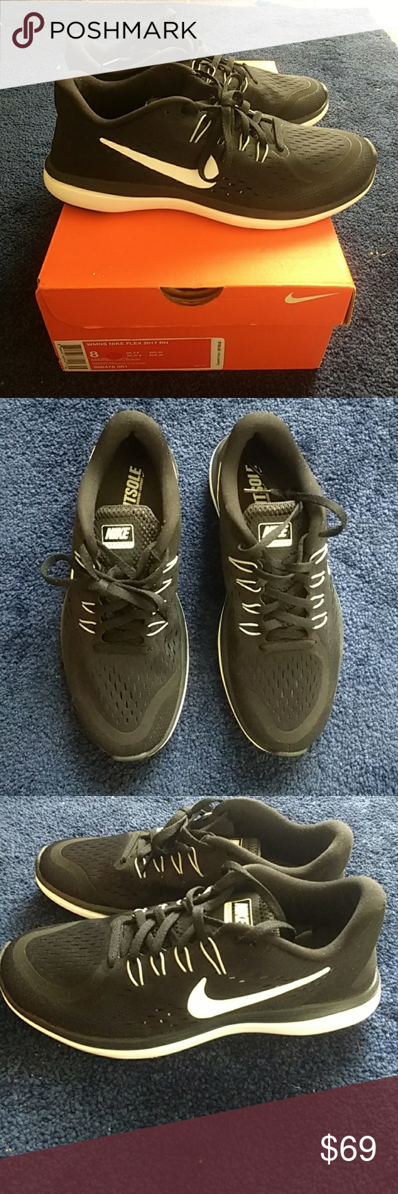 c166769e425413 NIB Nike Flex 2017 RN Women s Running Shoe Brand new in box