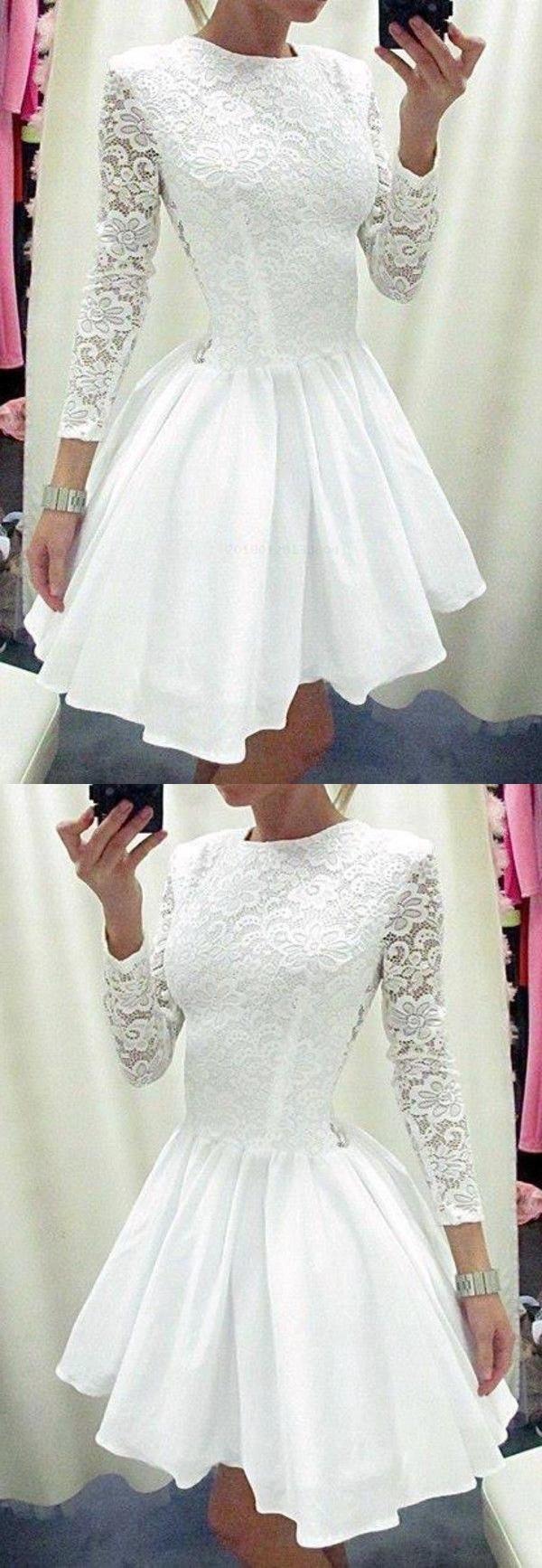 Kundengebundenes buntes weißes Spitze-Heimkehr-Kleid ...