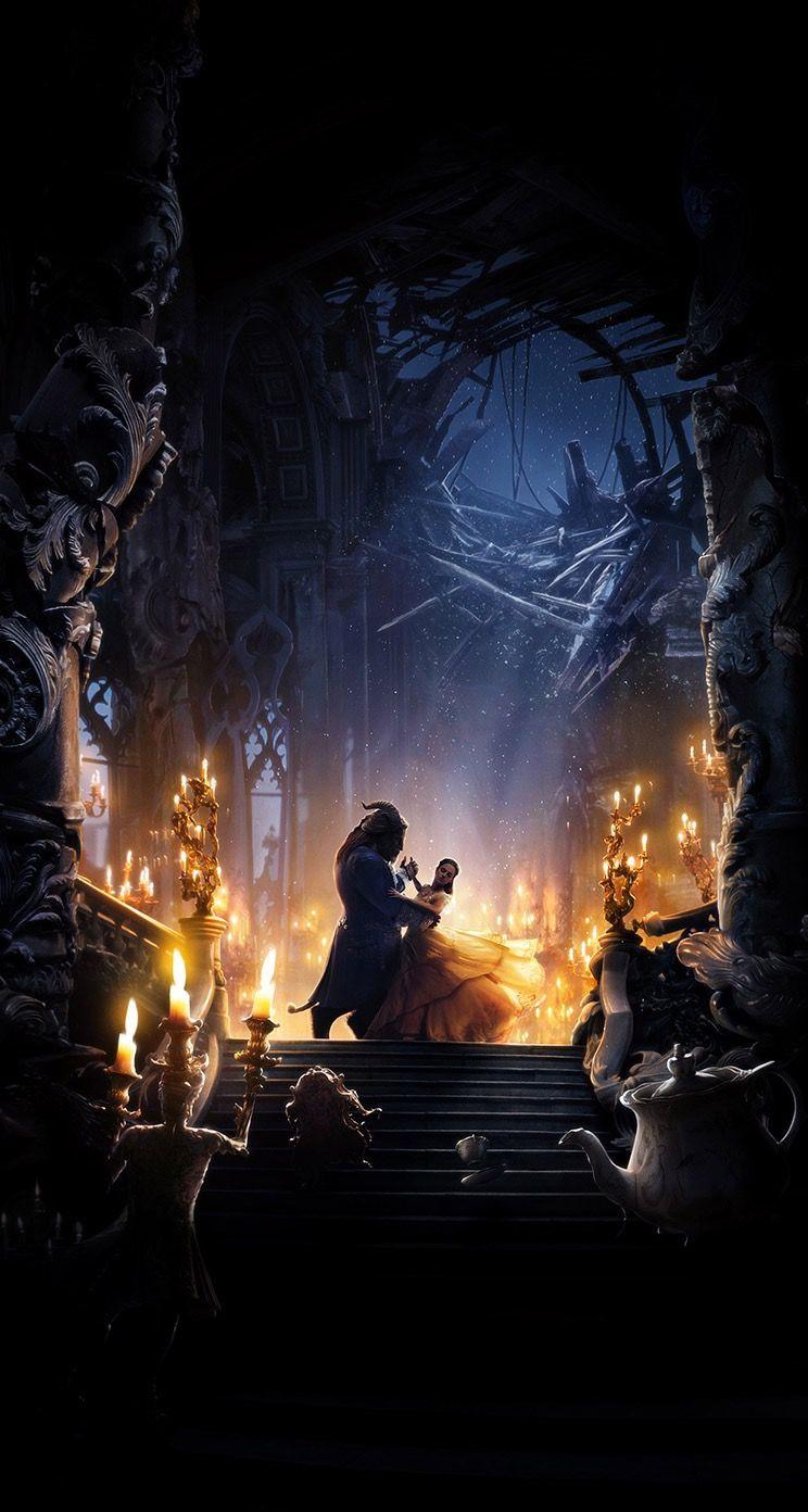 disney the beauty and the beast wallpaper for iphone with emma