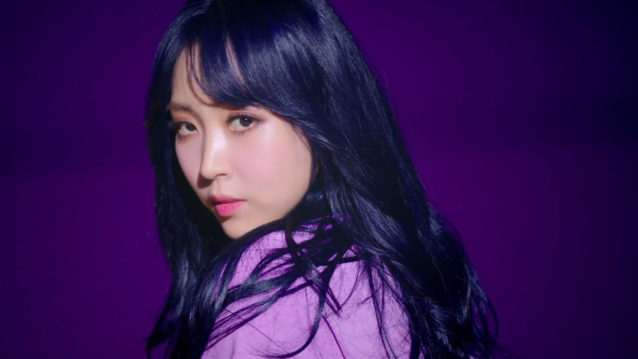 Image result for moonbyul purple