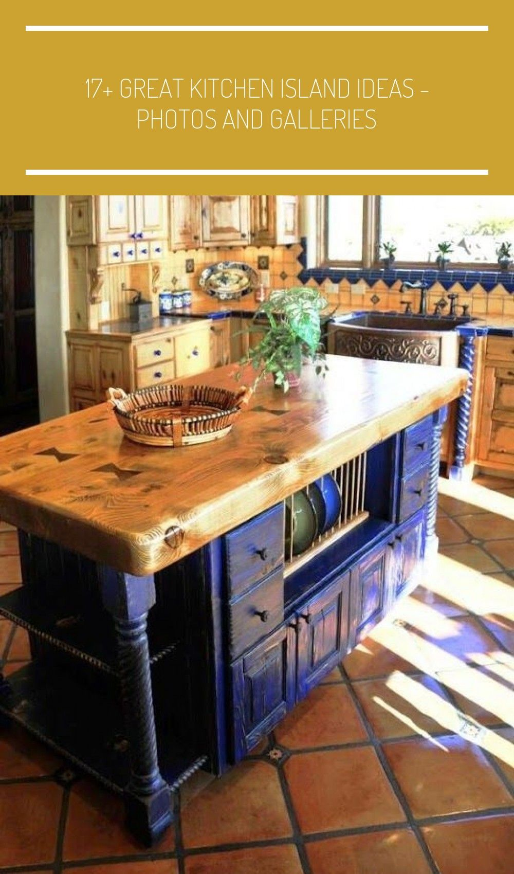 17+ Great Kitchen Island Ideas - Photos and Galleries Tags: simple kitchen designs, kitch… in ...