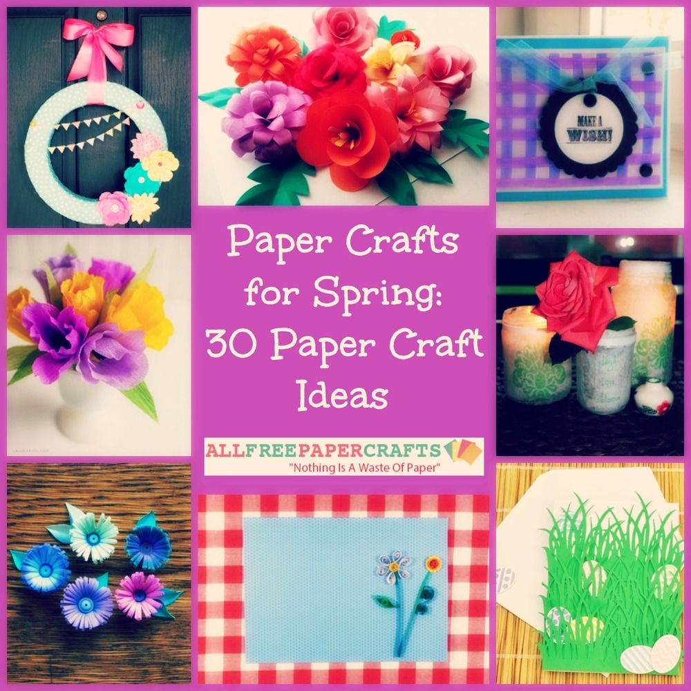Paper Crafts For Spring 30 Paper Craft Ideas Diy Paper