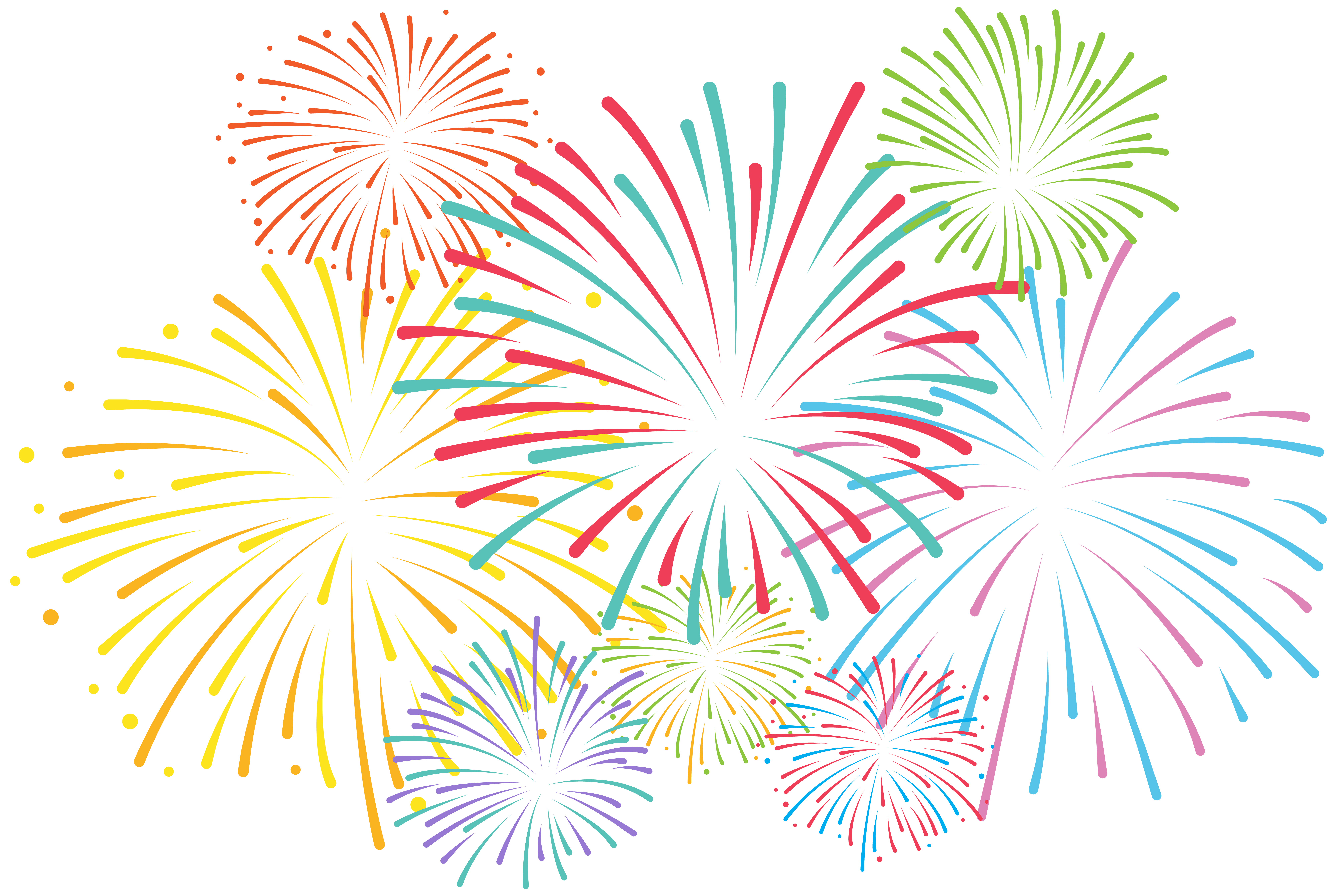 fireworks clipart fireworks animation animated clipart fire image social media art  [ 8000 x 5363 Pixel ]