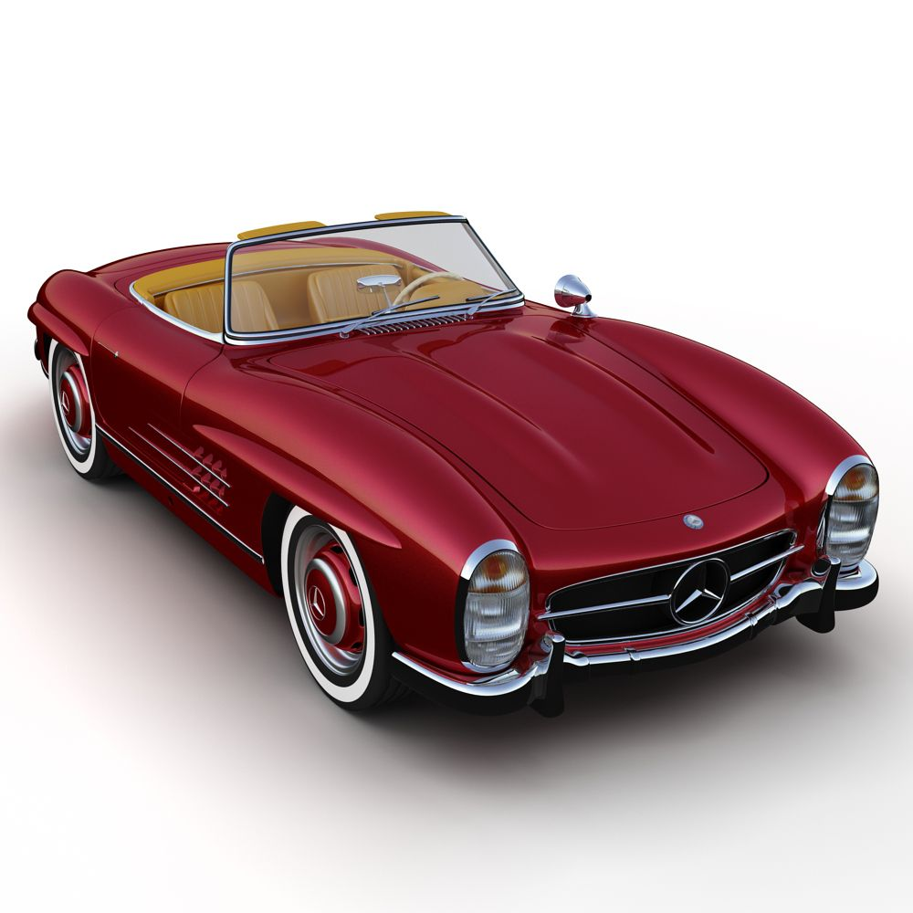 1957 Mercedes Benz 300sl Roadster Classic Cars Ford Mustang Car