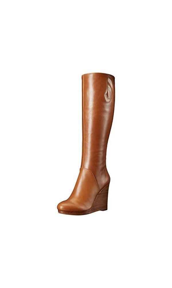 7438c46ef9e Nine West Women s Harvee Leather Knee-High Boot