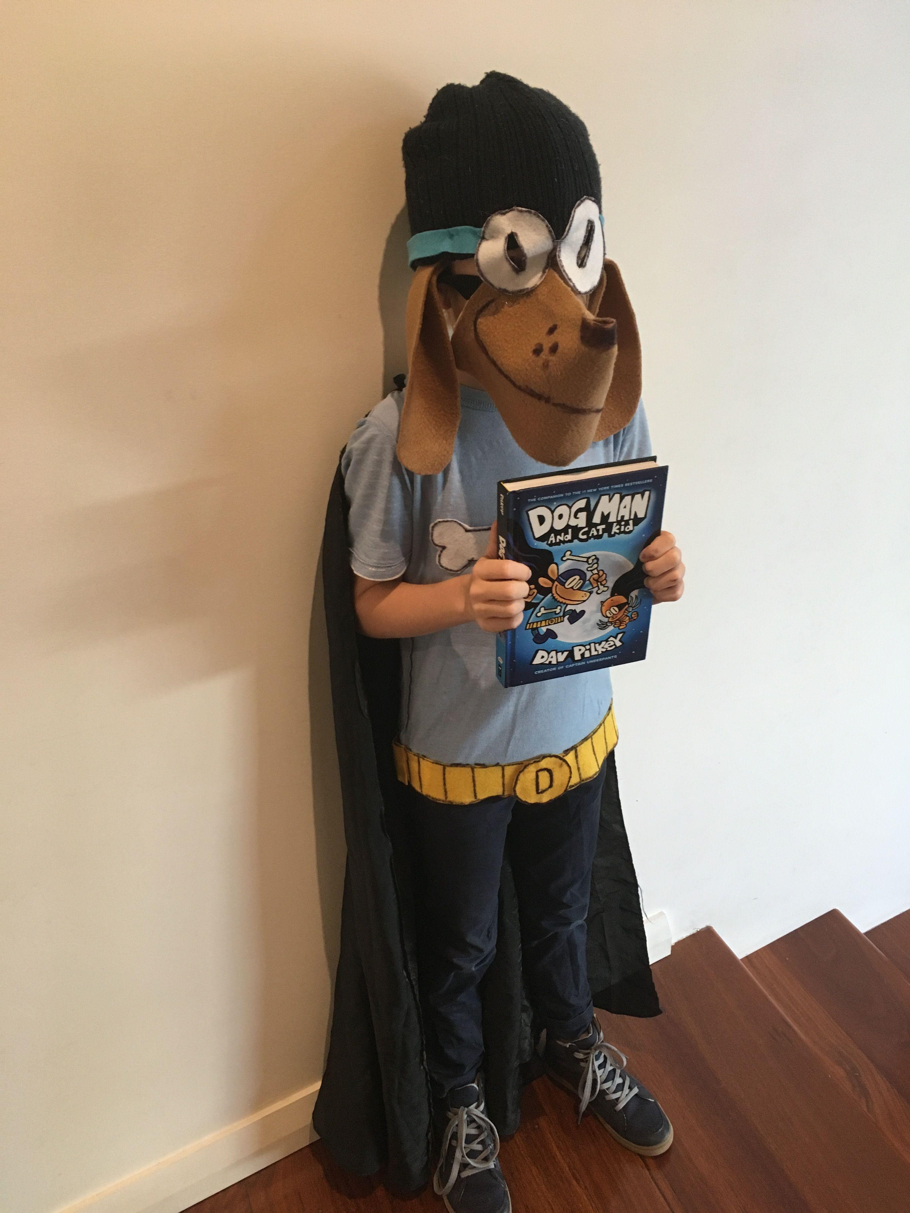 Dog Man Costume Boy Costumes World Book Day Costumes