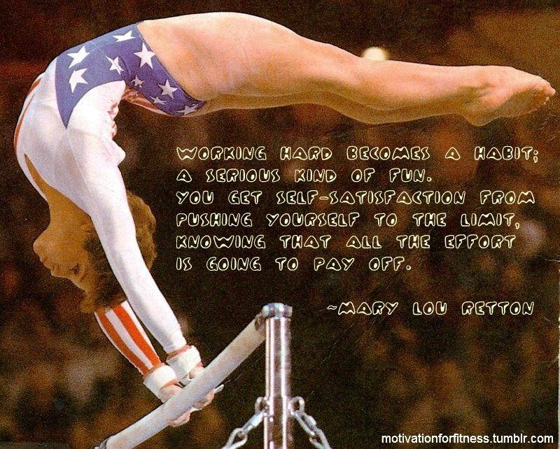 Love this ) Gymnastics quotes, Inspirational gymnastics