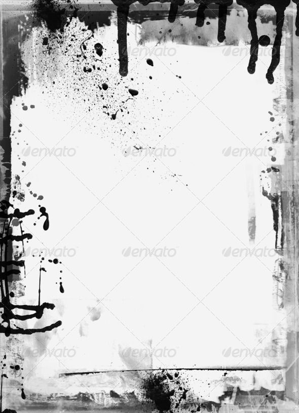 Grunge retro style frame for your projects abstract, antique - black border background
