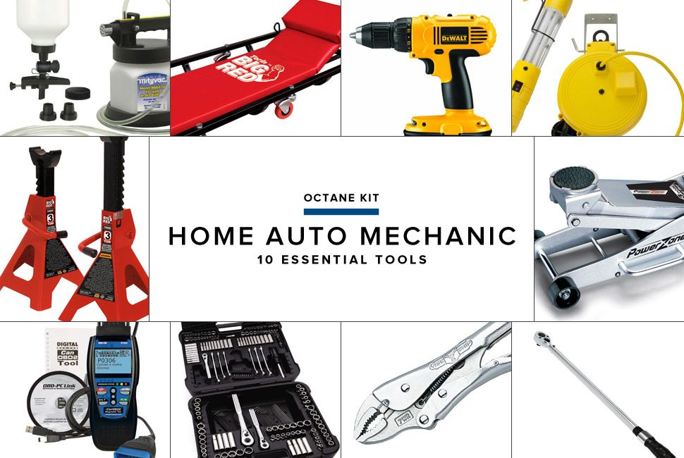 10 Best Tools For The Home Auto Mechanic Car Mechanic Mechanic Mechanic Garage