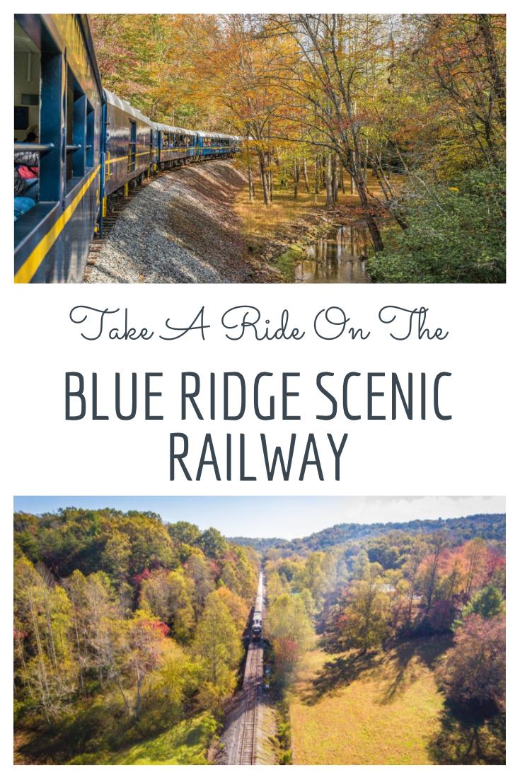 Ride A Train Through North Georgia