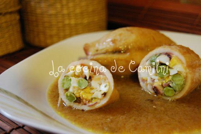 La cocina de Camilni: Calamares rellenos