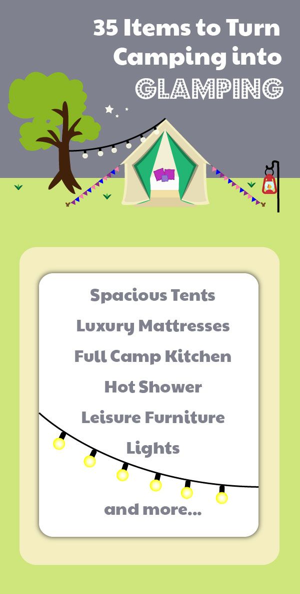 Photo of 35 Items To Turn Camping into Glamping