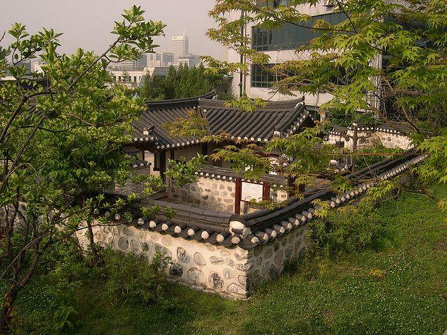 Hanok 일본 건축 한국 정원 건축