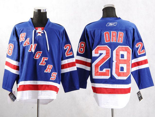 New York Rangers 28 Colton ORR Home Jersey  6224427f356