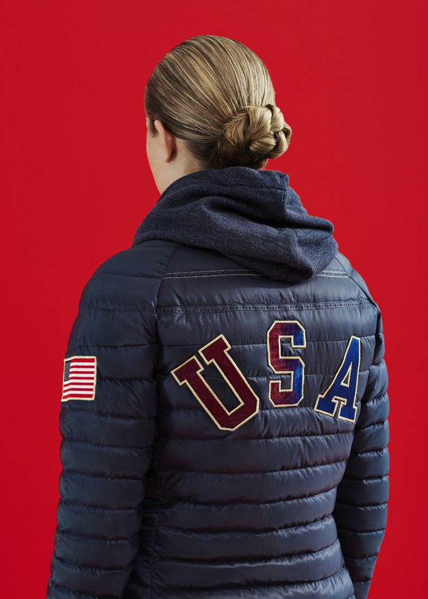814aaaa5a6 Nike US Medal Stand Apparel - Aeroloft 800 Summit Jacket (Navy ...