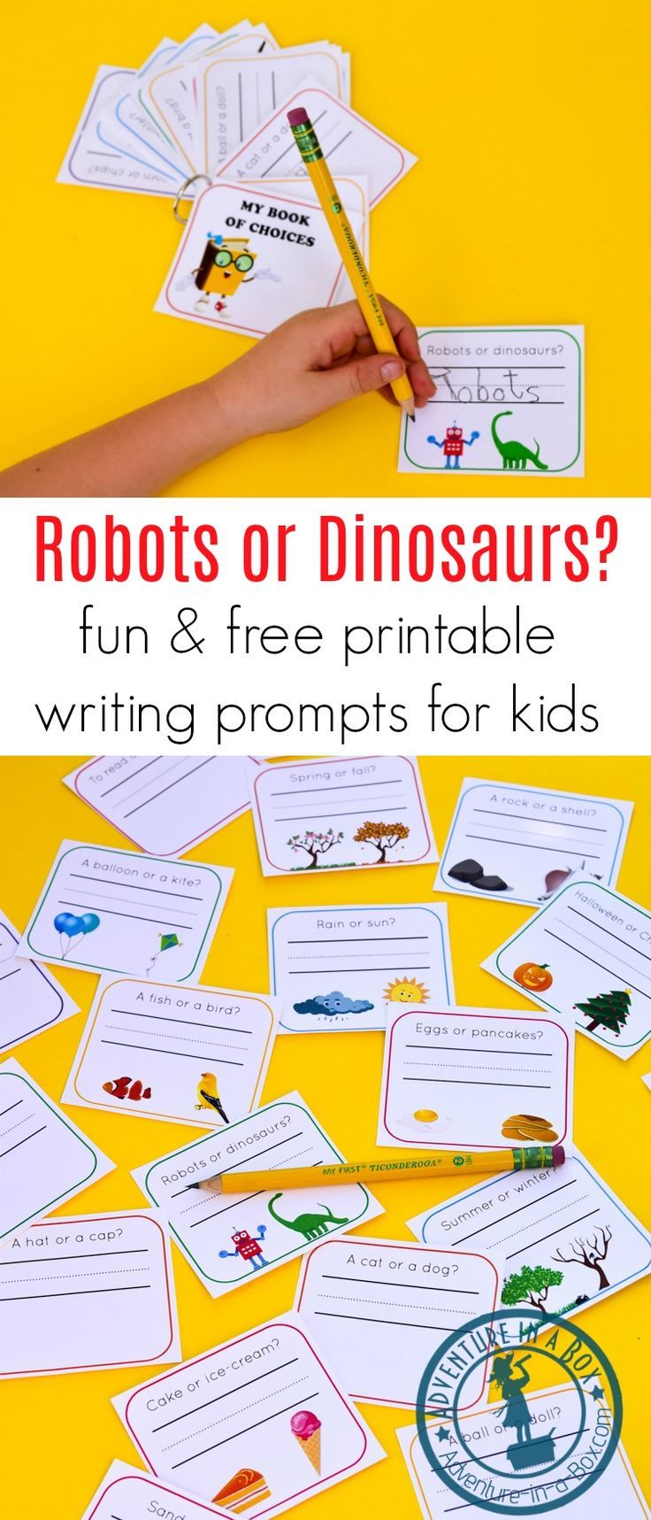 Fun & Free Printable Writing Worksheets for Kindergarten and Grade 1 ...