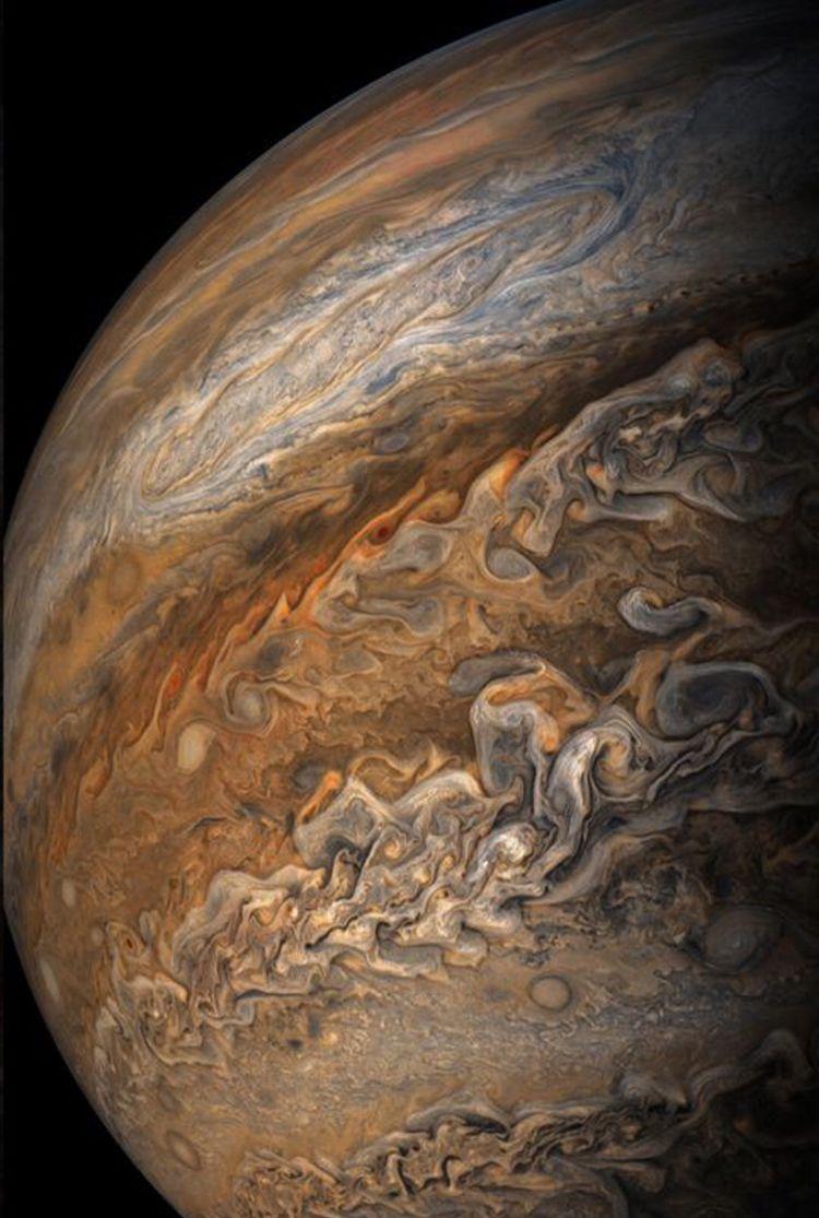 Jupiter Pic Via Nasa Jupiter Space And Astronomy Jupiter Planet