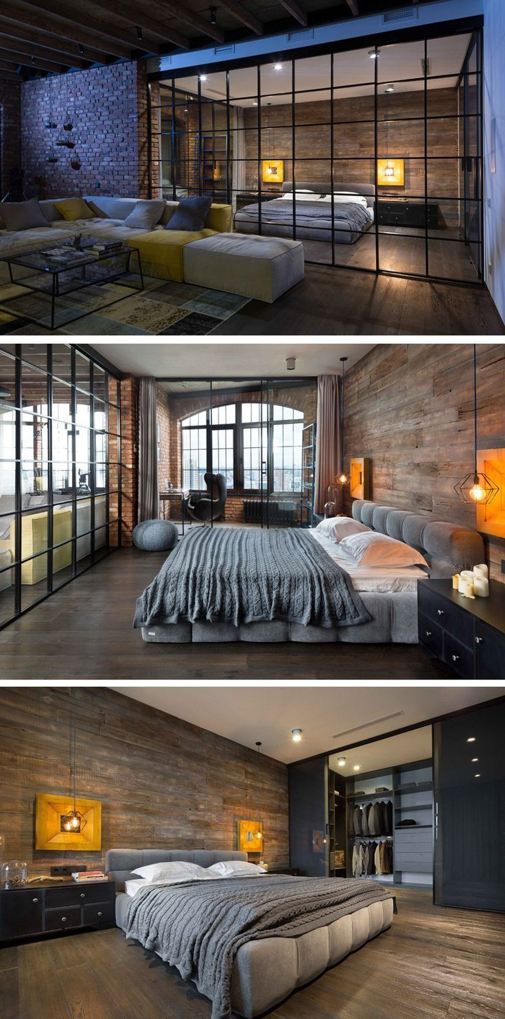 Loft bedroom in garage  Igor Martin and Olga Novikova of MARTINarchitects have completed a