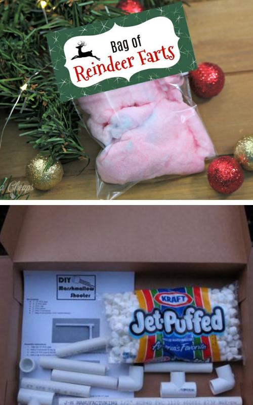 Homemade christmas gag gift