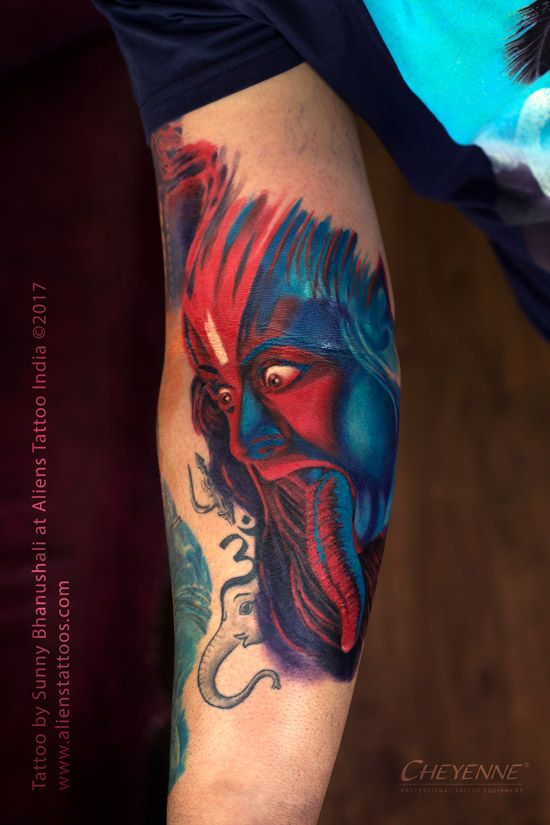 Goddess Kali Tattoo By Sunny Bhanushali At Aliens Tattoo India