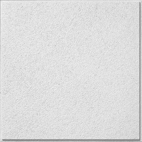 Armstrong Clic Fine Textured Contractor White Drop Acoustic Panel Ceiling Tiles Common X Actual