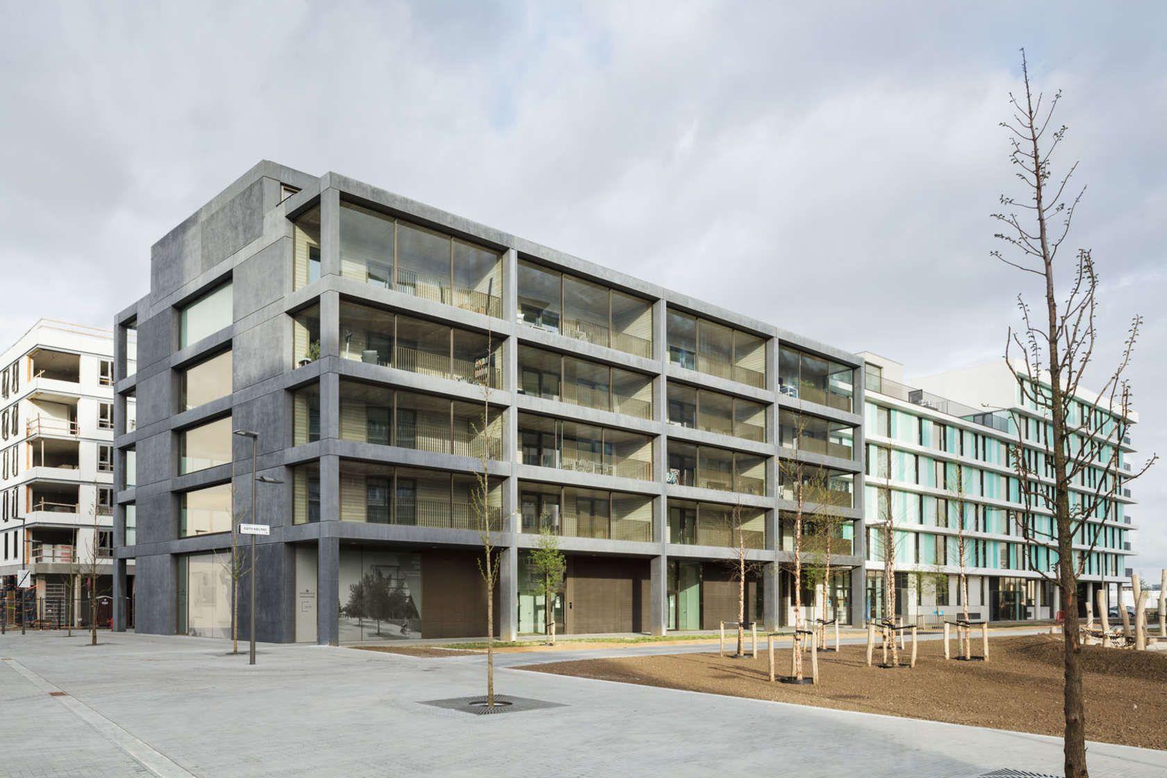 firm atelier kempe thill project winter garden housing antwerp