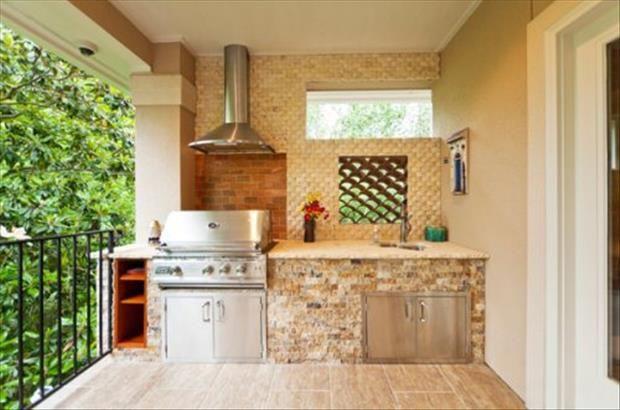 30 Amazing Outdoor Kitchen Ideas DIY Pinterest 30th, Kitchens