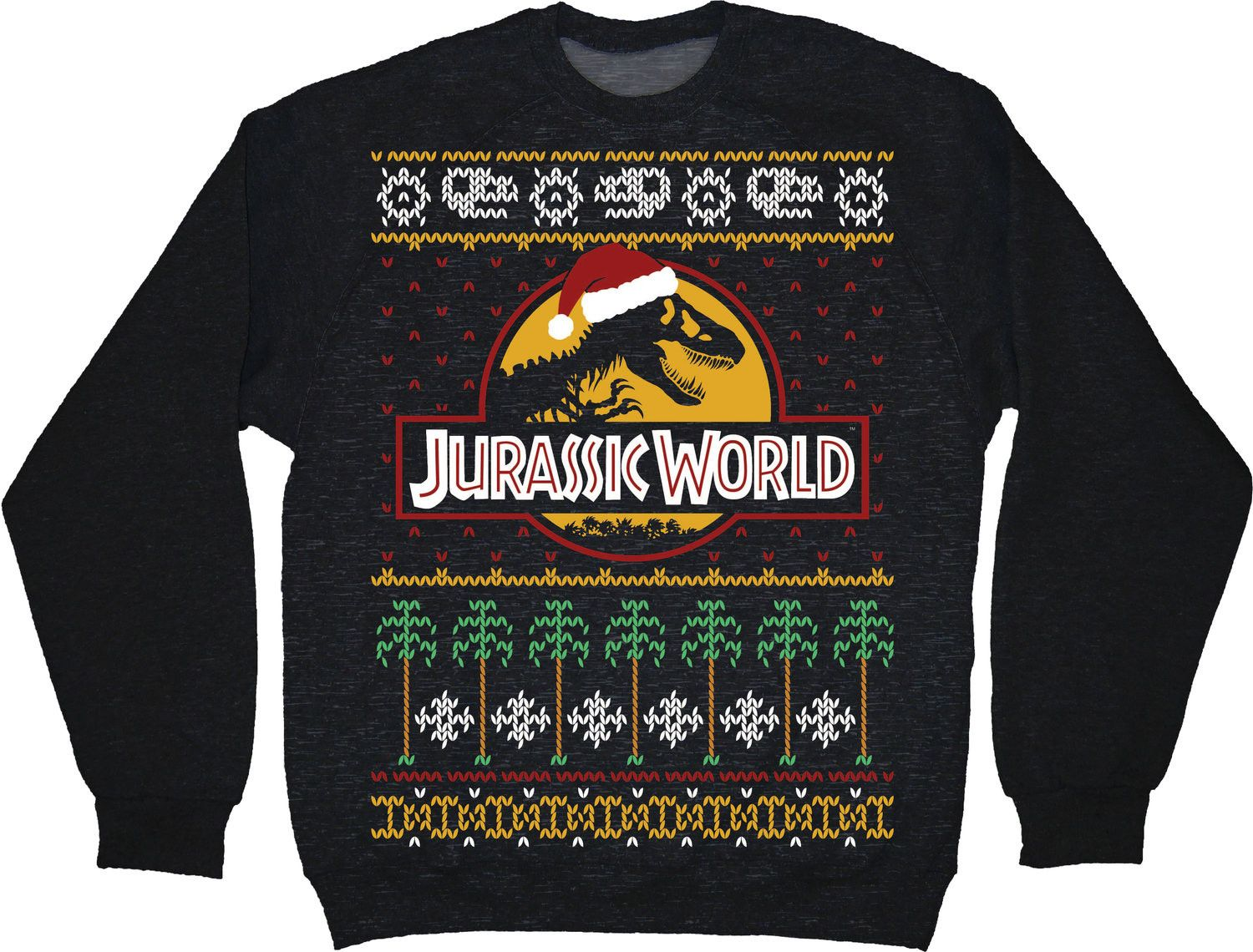 Jurassic World Faux Christmas Sweater Clothes Christmas Sweaters