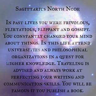 Sagittarius North Node