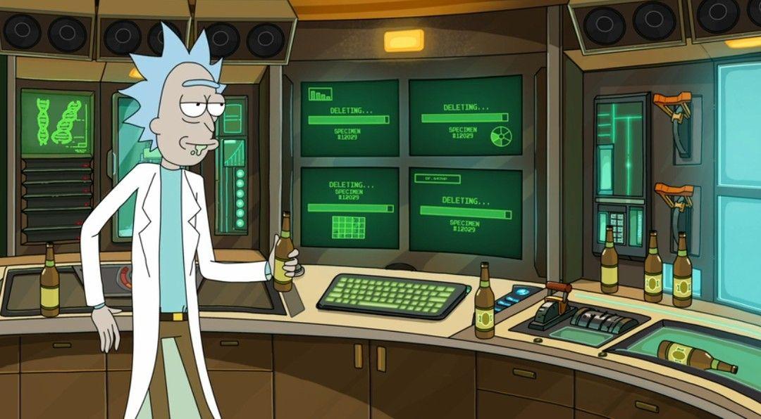 Rick And Morty Get Schwifty Rick Y Videojuegos