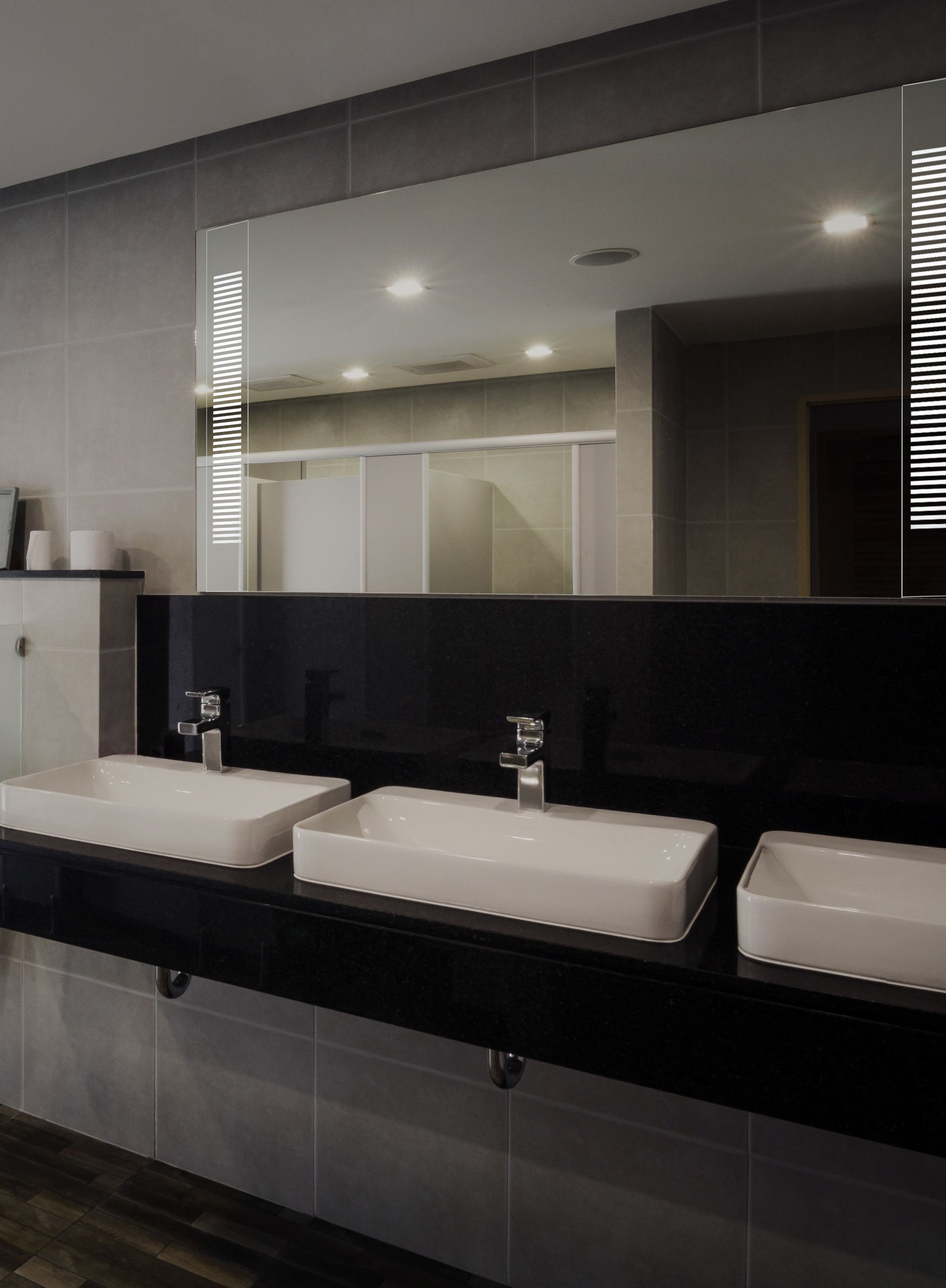 Lighting For Bathrooms Emanation Mirrored In Wall Boyd Lighting Boyd In Bathrooms