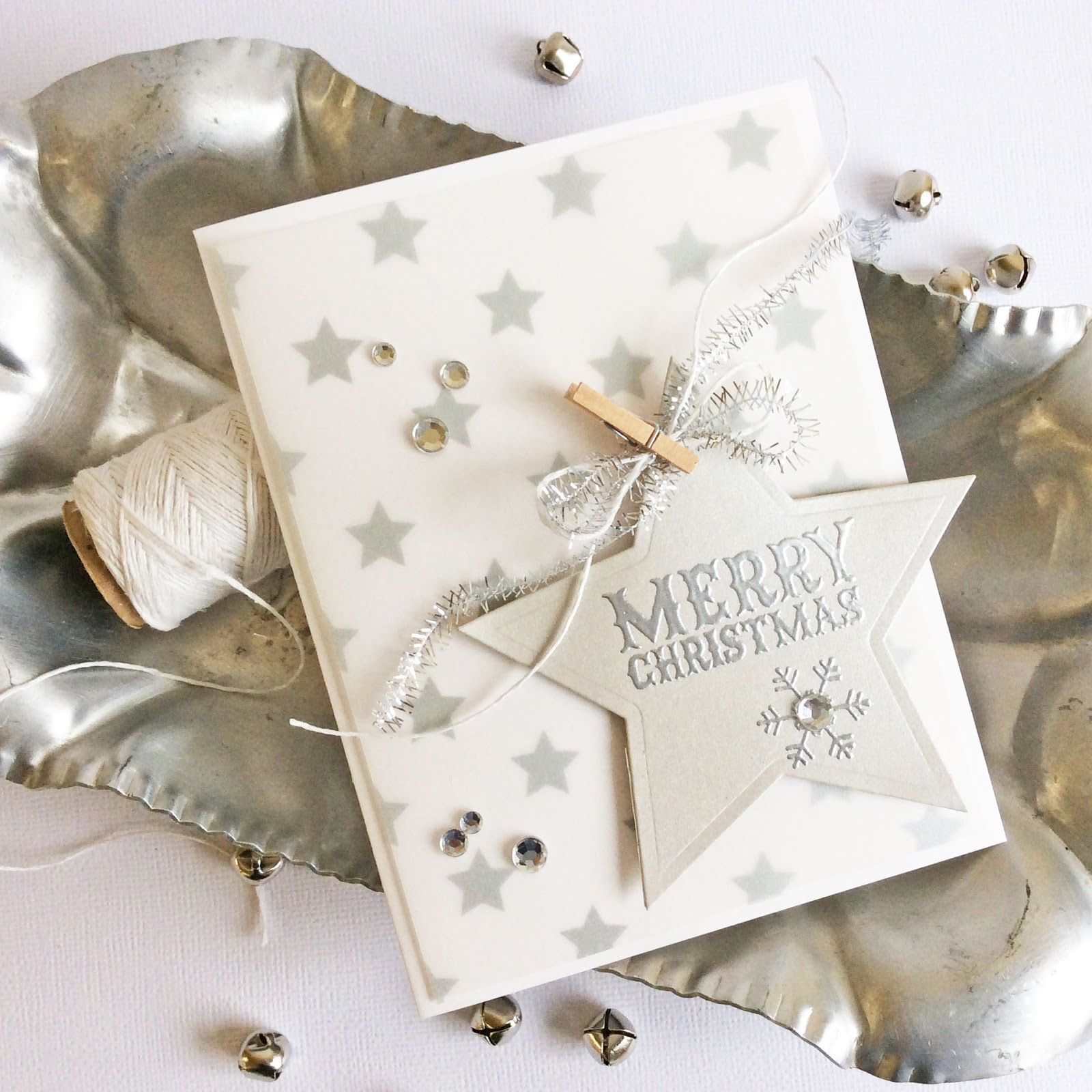 Card-Blanc by Kathy Martin: 7 Days of Sparkle - Fun Stampers Journey Style | Merry Christmas