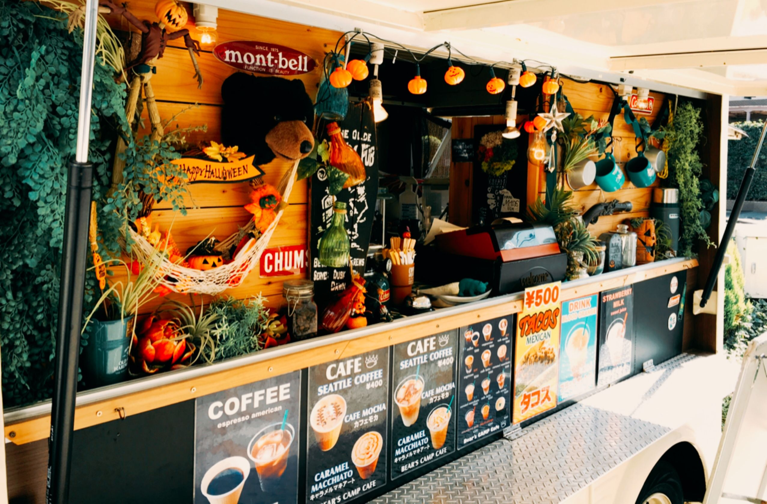Bear S Camp Cafe フードトラック キッチンカー コーヒー