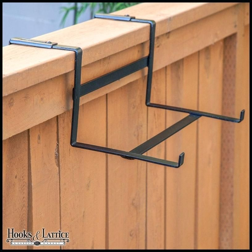 Deck railing bracket for 9 wide planter fits all and plant