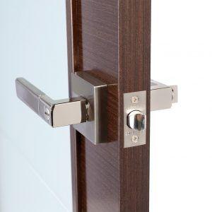 Bar Locks For Doors Electronic Keypad Lever Door Lock Strong Door Within  Measurements 900 X 900 Satin Nickel Door Knobs Contractor Pack   For The  Decoratio
