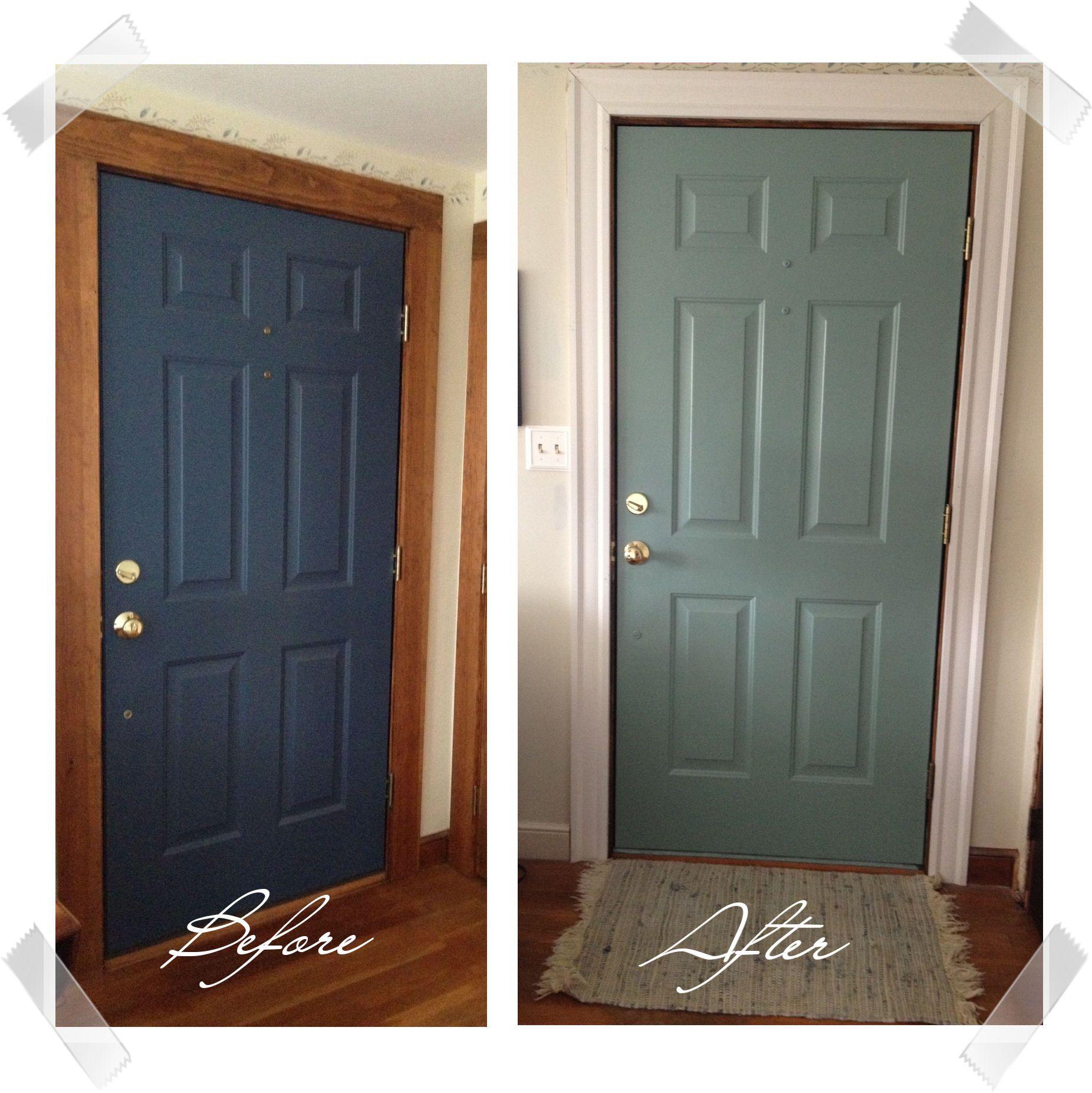 DIY Painted Door | Painted doors, Doors and Front doors