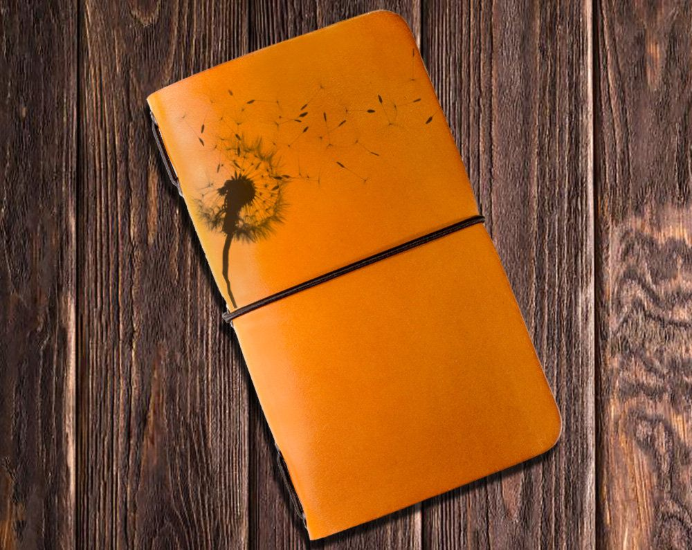 Photo of Dandelion, Blowball Something Worth Writing Journal – Notebook, a