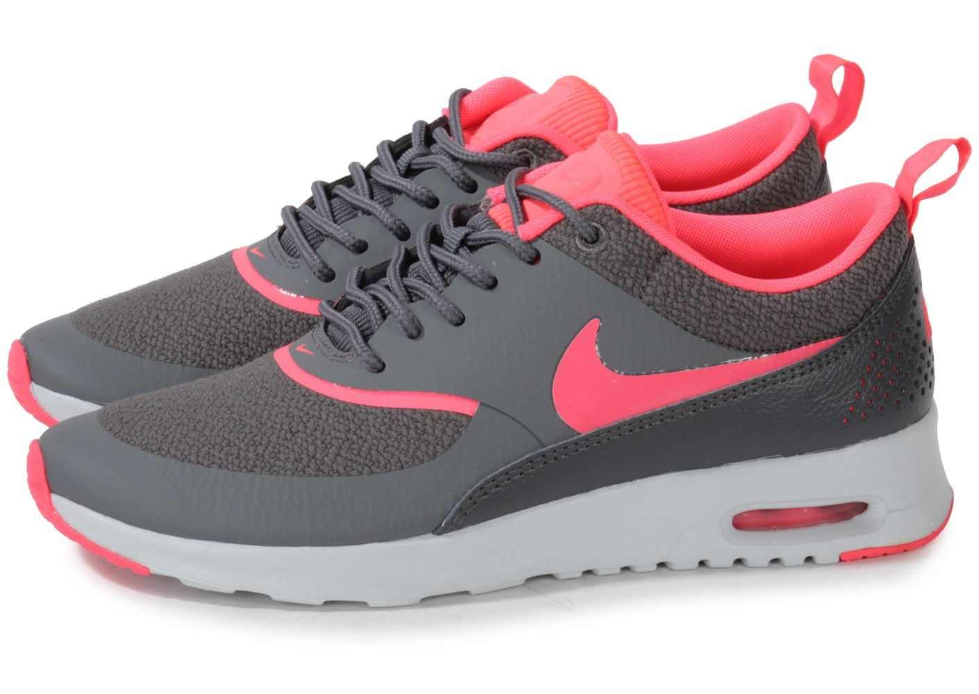 nike air max thea grise rose pas cher