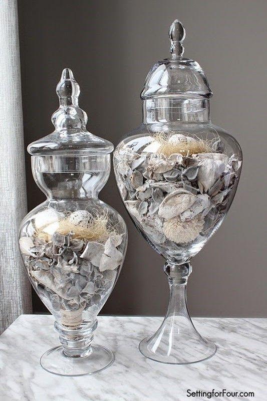 Apothecary Jar Decor Awesome Spring Apothecary Jar Decor  Apothecary Jars Decor Jars Decor Design Ideas
