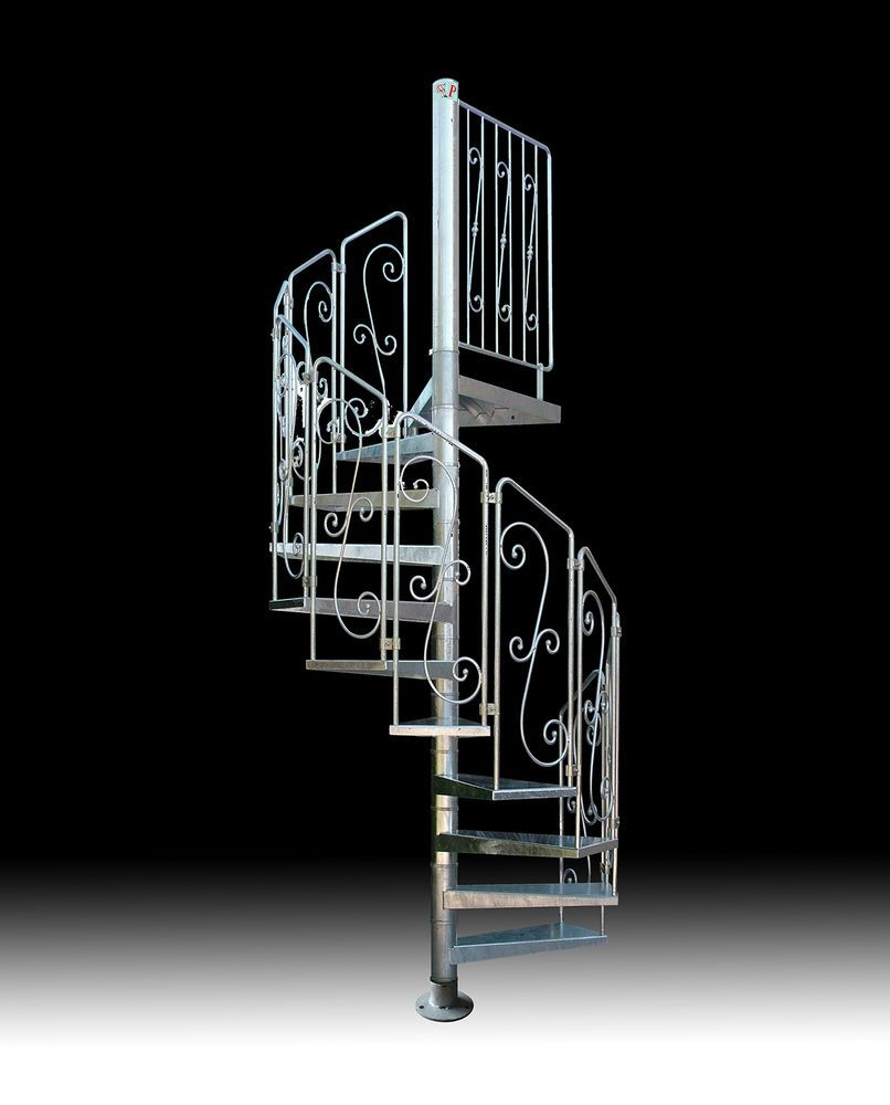 Best Details About Spiral Staircase Mod Asgaard Galvanized 640 x 480