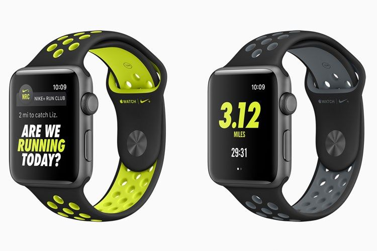 Apple Nike+ watch faces 1