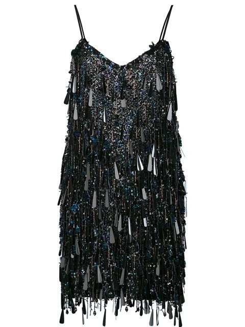 9fb115b7 ASHISH Tasseled Backless Mini Dress. #ashish #cloth #dress | Ashish ...